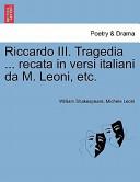 Riccardo III. Traged...