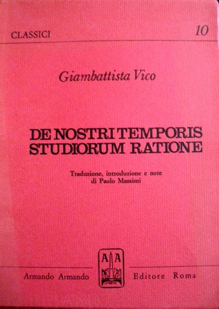 De nostri temporis studiorum ratione