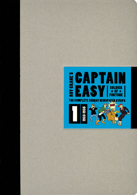 Captain Easy, Soldier of Fortune - Vol. 1 1933-1935