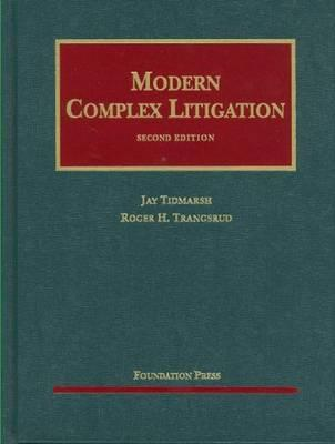 Modern Complex Litigation