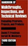 Handbook of Walkthroughs, Inspections, and Technical Reviews
