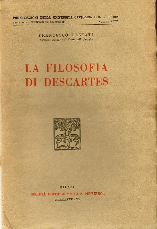 La filosofia di Descartes