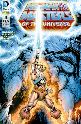 He-Man and the Masters of the Universe #1