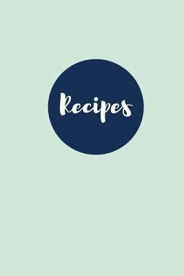 Julep Mint Blank Recipe Journal