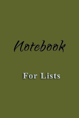 Notebook for Lists
