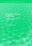 Towards a Critical S...