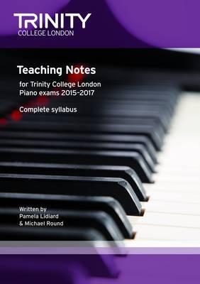 Piano 2015 - 17 Teaching Notes