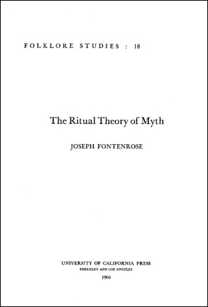 The Ritual Theory of Myth