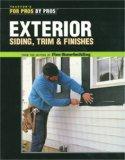 Exterior Siding, Trim & Finishes