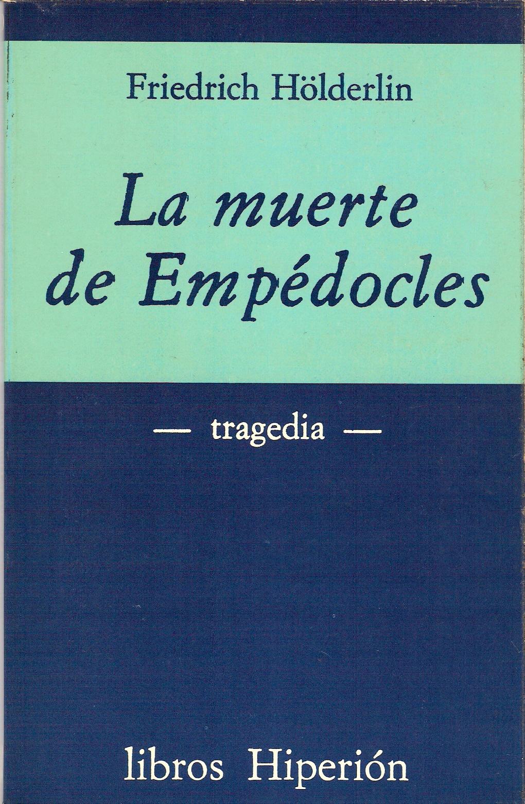 La muerte de Empédocles