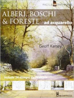Alberi, boschi & foreste ad acquarello