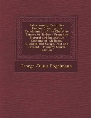 Labor Among Primitive Peoples