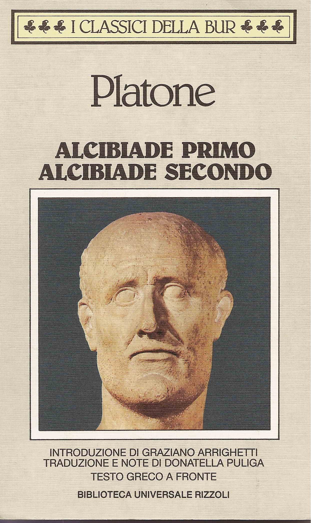 Alcibiade primo - Alcibiade secondo