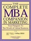 The Complete MBA Companion in Marketing