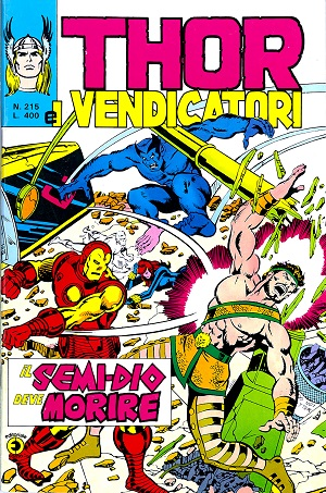 Thor e i Vendicatori (Il Mitico Thor) n. 215