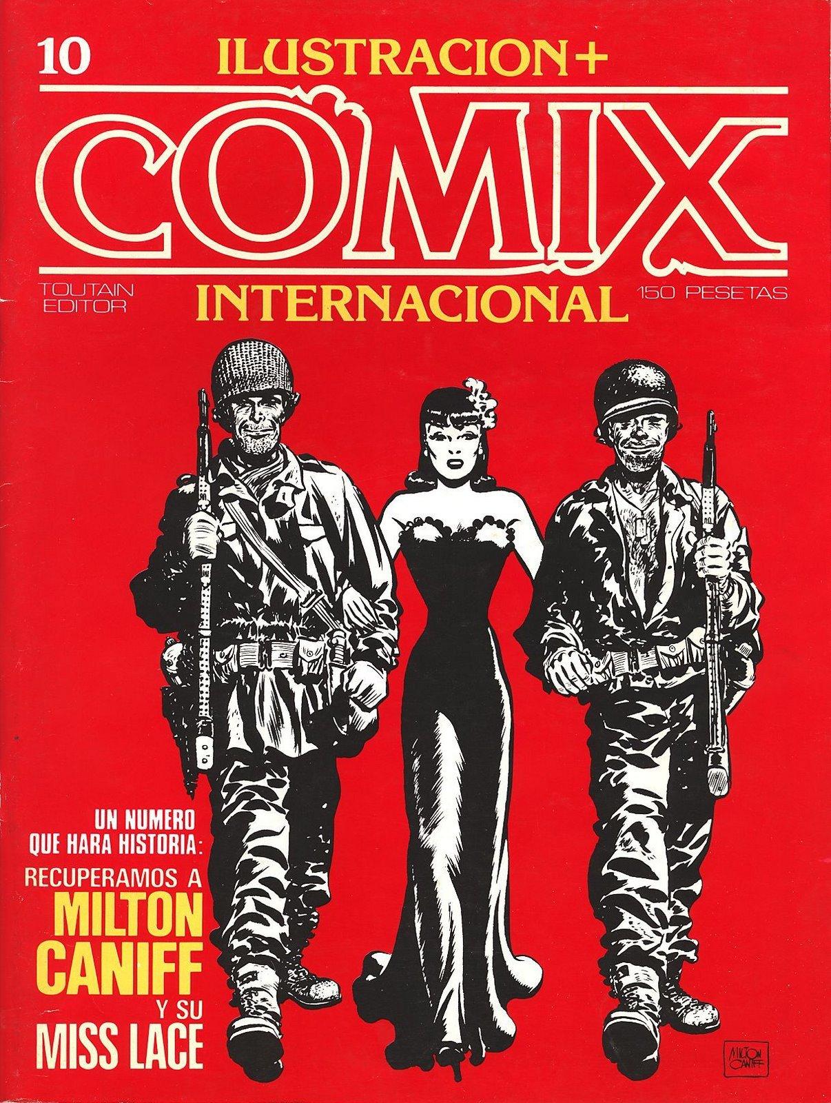 Ilustración + Comix Internacional #10