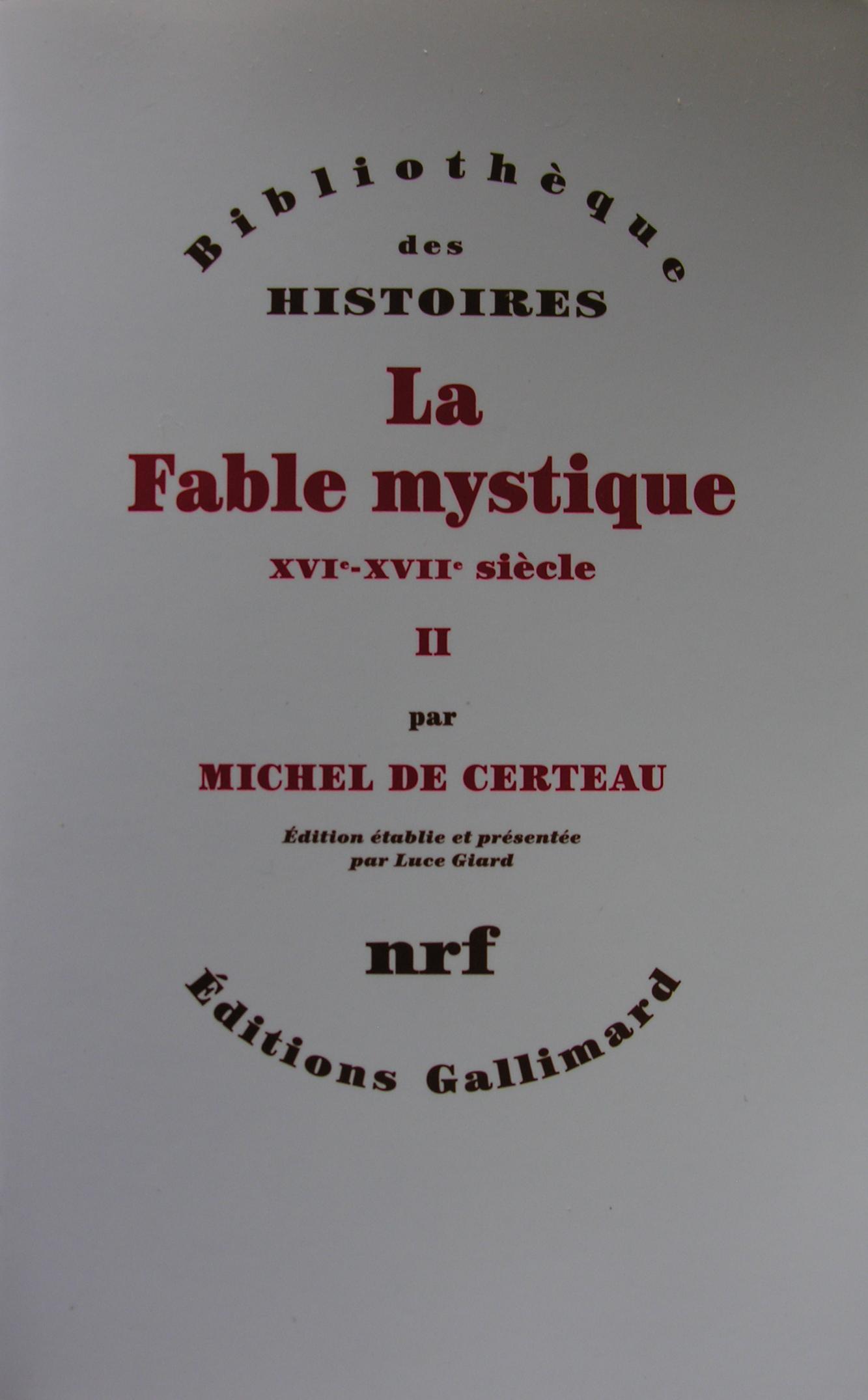 La fable mystique, T...