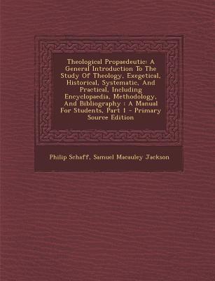 Theological Propaedeutic