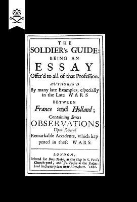 Soldier's Guide, 1686