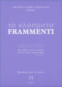Frammenti, n.15, 2011