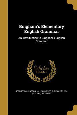BINGHAMS ELEM ENGLISH GRAMMAR