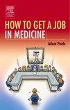 How To Get A Job In Medicine