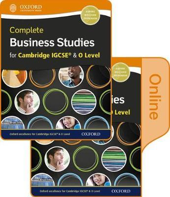 Complete Business Studies for Cambridge IGCSE and O Level Print & Online Student Book