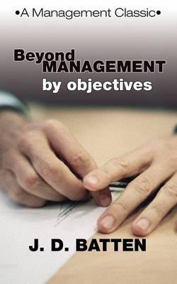 Beyond Management by...