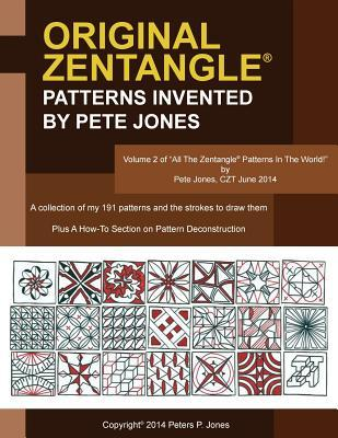 Original Zentangle Patterns Invented by Pete Jones