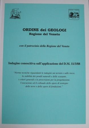 Indagine conoscitiva sull'applicazione del D.M. 11/3/88