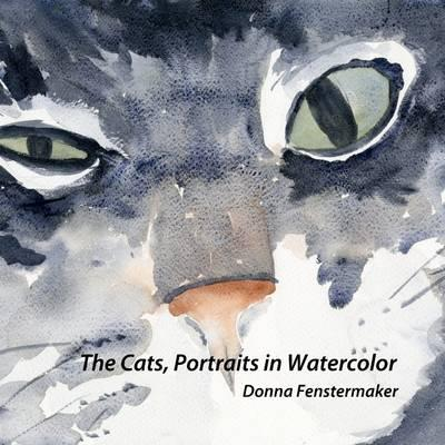 Cats, Portraits in Watercolor