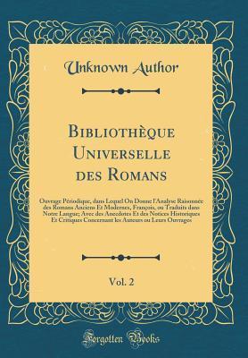 Bibliothèque Universelle des Romans, Vol. 2
