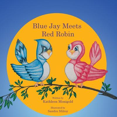 Blue Jay Meets Red Robin