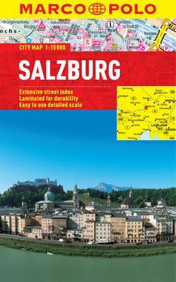 Marco Polo City Map Salzburg