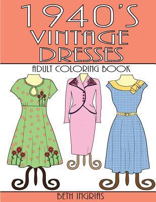 1940's Vintage Dresses