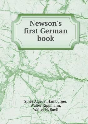 Newson's First German Book