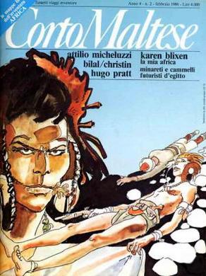 Corto Maltese, Anno IV, n. 2 (febbraio 1986)