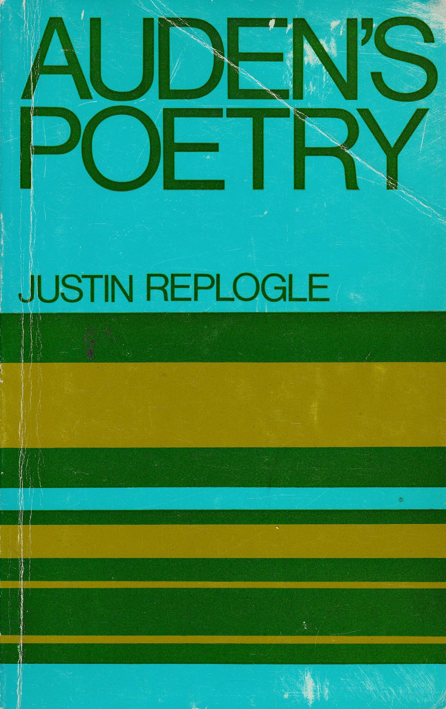 Auden's Poetry