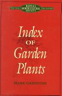 Index of garden plants