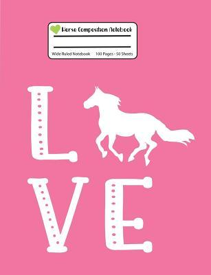 Horse Composition Notebook