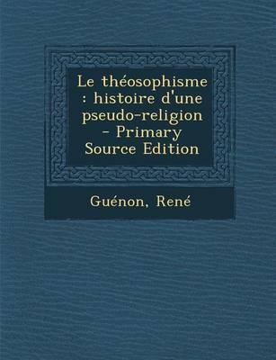 Le Theosophisme