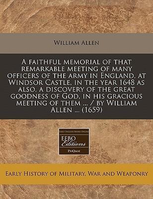 A Faithful Memorial ...