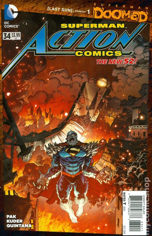Action Comics Vol.2 #34