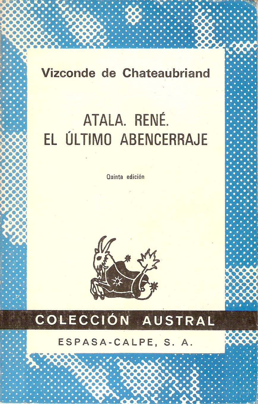 Atala - René - El último abencerraje