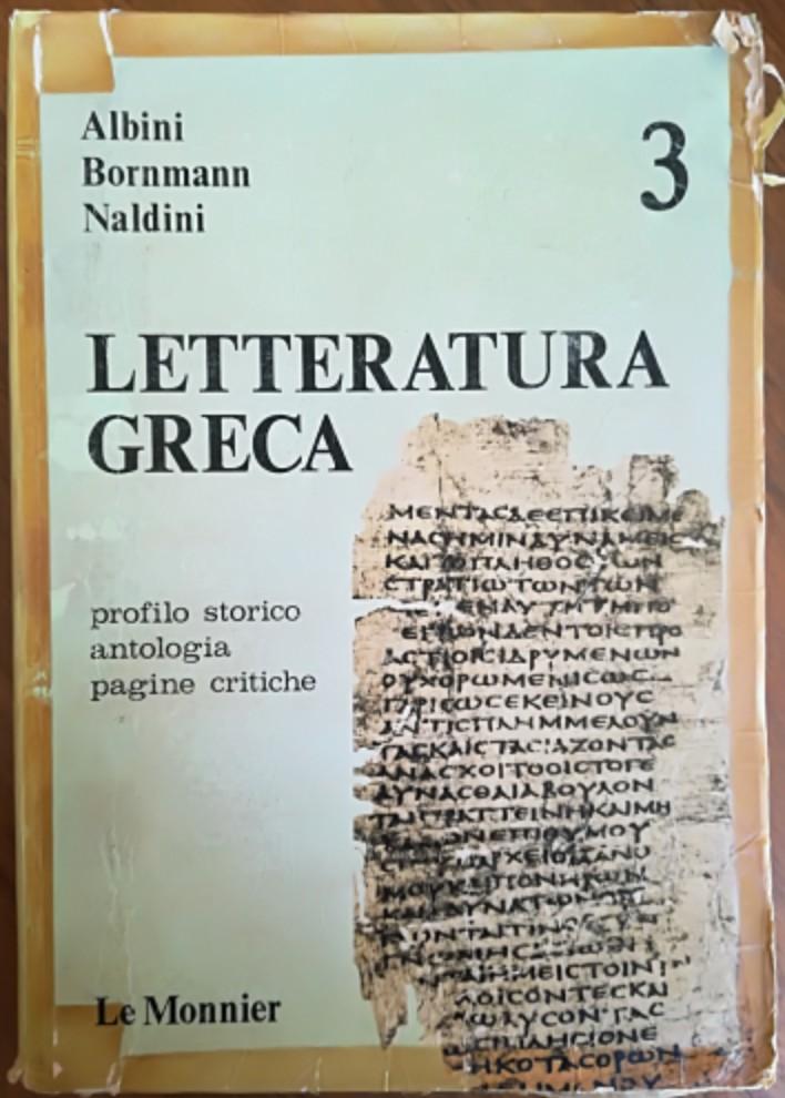 Letteratura greca - ...