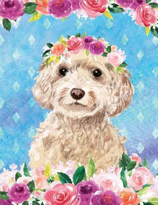 My Big Fat Bullet Journal For Dog Lovers Cockapoo In Flowers
