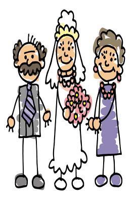 Wedding Journal Bride Parents