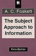 The subject approach to information