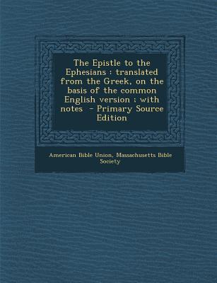 Epistle to the Ephes...