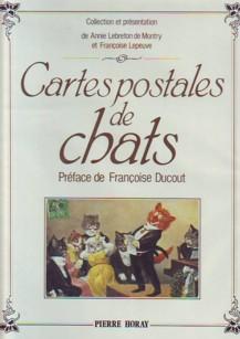 Cartes postales de chats